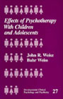 Effects of Psychotherapy with Children and Adolescents