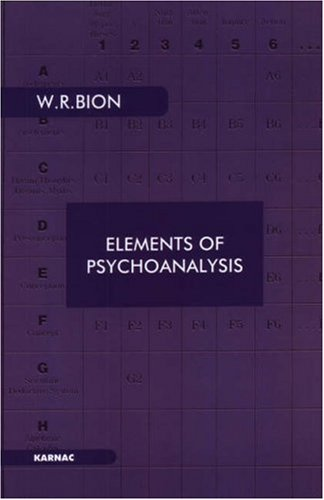 Elements of Psychoanalysis