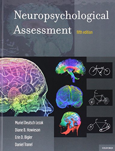 Neuropsychological Assessment: Fifth Edition