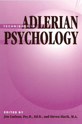 Techniques of Adlerian Psychology