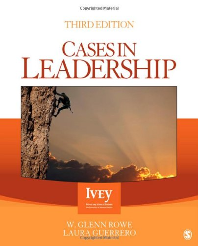 Cases in Leadership: Third Edition