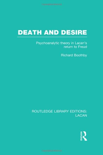 Death and Desire (RLE: Lacan): Psychoanalytic Theory in Lacan's Return to Freud
