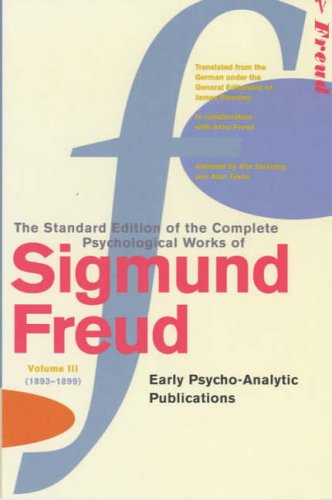 Standard Edition Vol 3: Early Psycho-Analytic Publications
