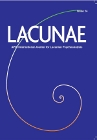 Lacunae: APPI International Journal for Lacanian Psychoanalysis: Issue 14
