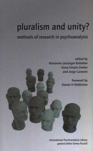 Pluralism and Unity? Methods of Research in Psychoanalysis