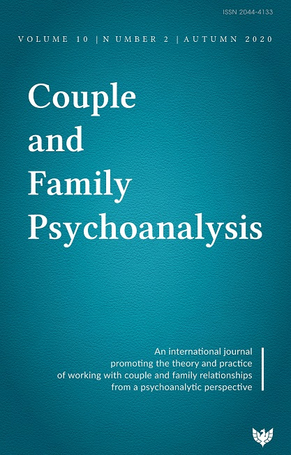 Couple and Family Psychoanalysis Journal: Volume 10 Number 2