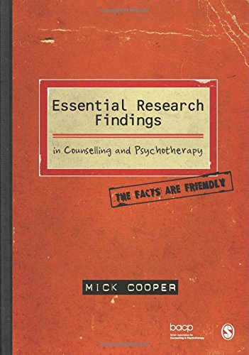 Essential Research Findings in Counselling and Psychotherapy: The Facts Are Friendly