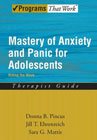 Mastery of Anxiety and Panic for Adolescents: Riding the Wave - Therapist Guide