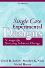 Single Case Experimental Designs: Strategies for Studying Behavior Change