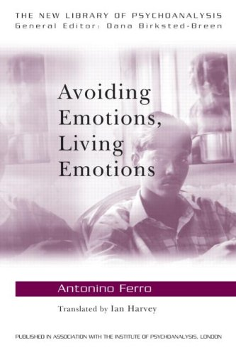 Avoiding Emotions, Living Emotions