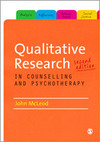 Qualitative Research in Counselling and Psychotherapy: Second Edition