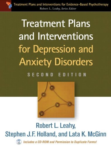 Treatment Plans and Interventions for Depression and Anxiety Disorders