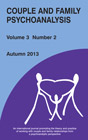 Couple and Family Psychoanalysis Journal - Volume 3 Number 2