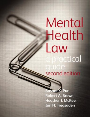 Mental Health Law: A Practical Guide: Second Edition