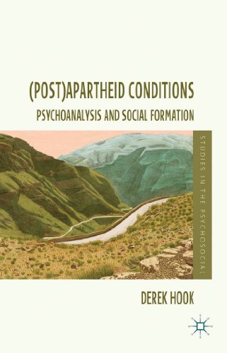 (Post)apartheid Conditions: Psychoanalysis and Social Formation