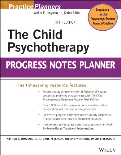 The Child Psychotherapy Progress Notes Planner: Fifth Edition