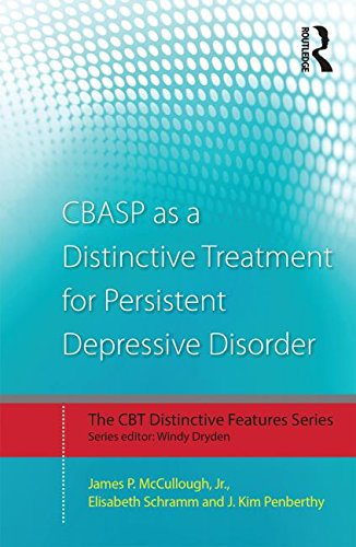 Cognitive Behavioral Analysis System of Psychotherapy as a Distinctive Treatment for Persistent Depressive Disorder: Distinctive Features
