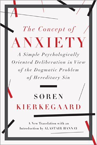 The Concept of Anxiety: A Simple Psychologically Oriented Deliberation