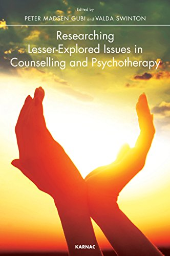 Researching Lesser-Explored Issues in Counselling and Psychotherapy