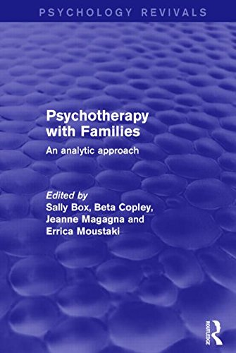Psychotherapy with Families: An Analytic Approach
