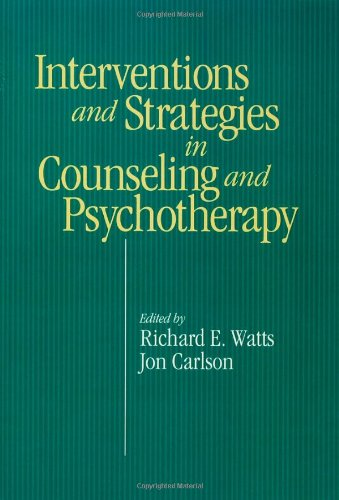 Intervention and Strategies in Counseling and Psychotherapy