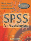SPSS for Psychologists: Guide to Data Analysis Using SPSS