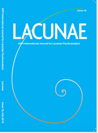 Lacunae: APPI International Journal for Lacanian Psychoanalysis: Issue 16