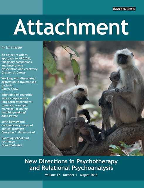 Attachment: New Directions in Psychotherapy and Relational Psychoanalysis - Vol.12 No.1