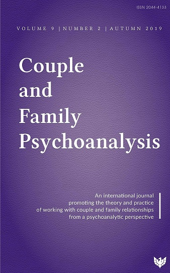 Couple and Family Psychoanalysis Journal - Volume 9 Number 2