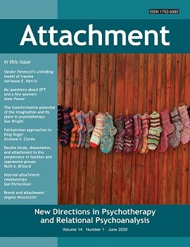 Attachment: New Directions in Psychotherapy and Relational Psychoanalysis - Vol.14 No.1