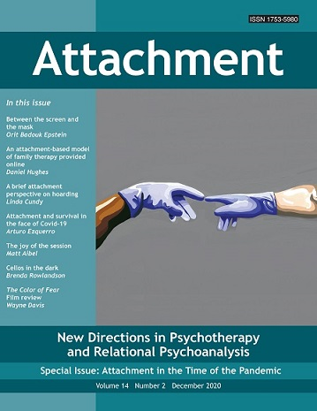 Attachment: New Directions in Psychotherapy and Relational Psychoanalysis - Vol.14 No.2