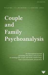 Couple and Family Psychoanalysis Journal:  Volume 11 Number 1 – Special Issue: Separation and Divorce
