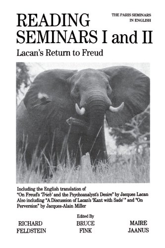 Reading Seminars I and II: Lacan's Return to Freud